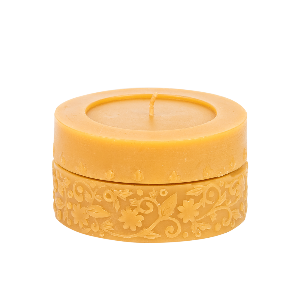 A honey candle